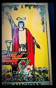 1971 the magician Rider Tarot deck